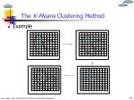 the k means clustering method1