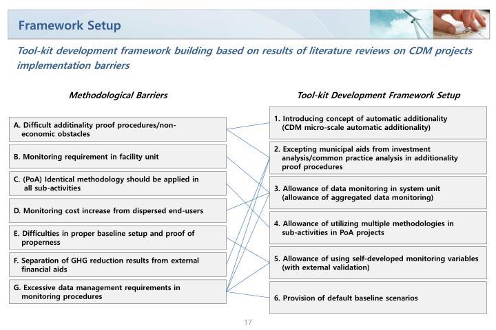 Framework Setup
