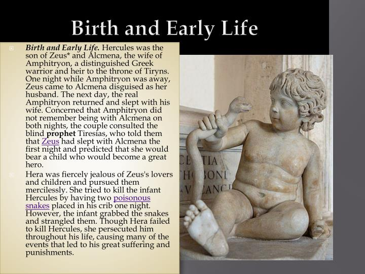 Birth and Early Life