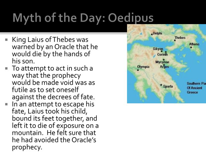 Myth of the Day: Oedipus