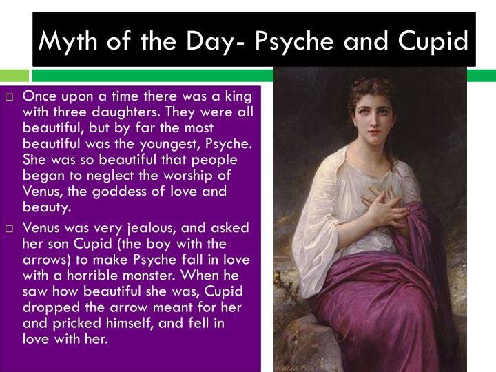Myth of the Day- Psyche and Cupid