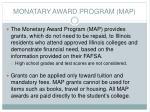monatary award program map