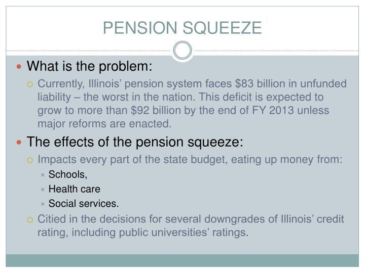 PENSION SQUEEZE