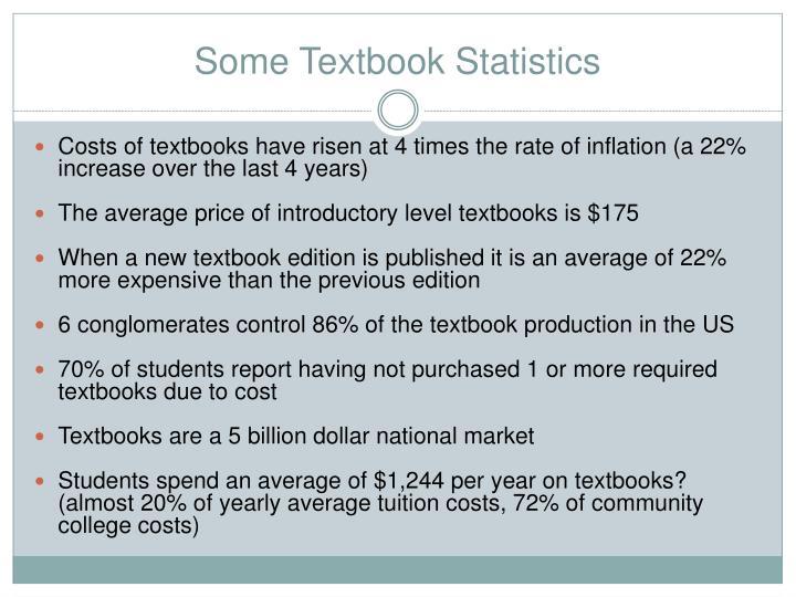 Some Textbook Statistics