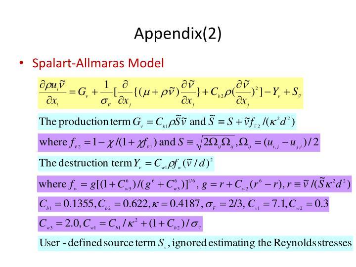 Appendix(2)