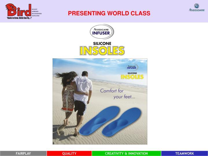 PRESENTING WORLD CLASS