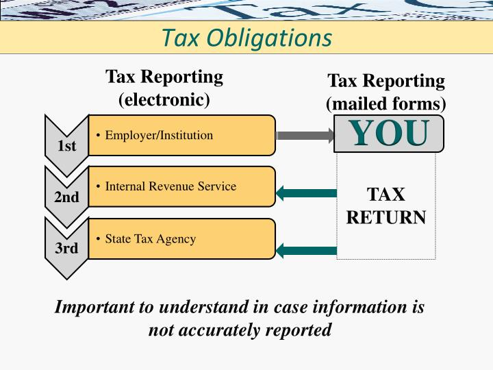 Tax Obligations