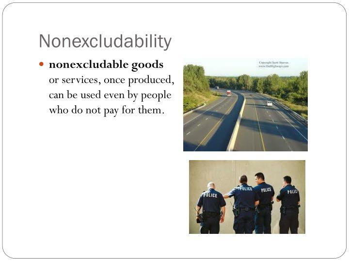 Nonexcludability