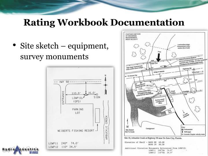 Rating Workbook Documentation