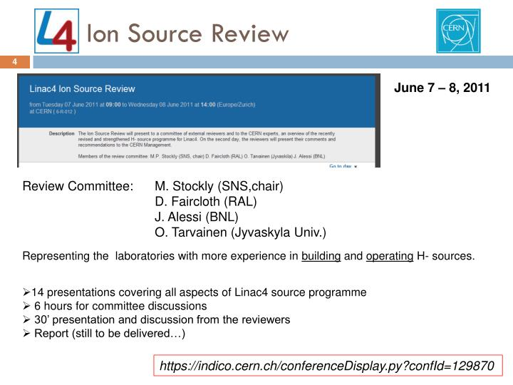 Ion Source Review