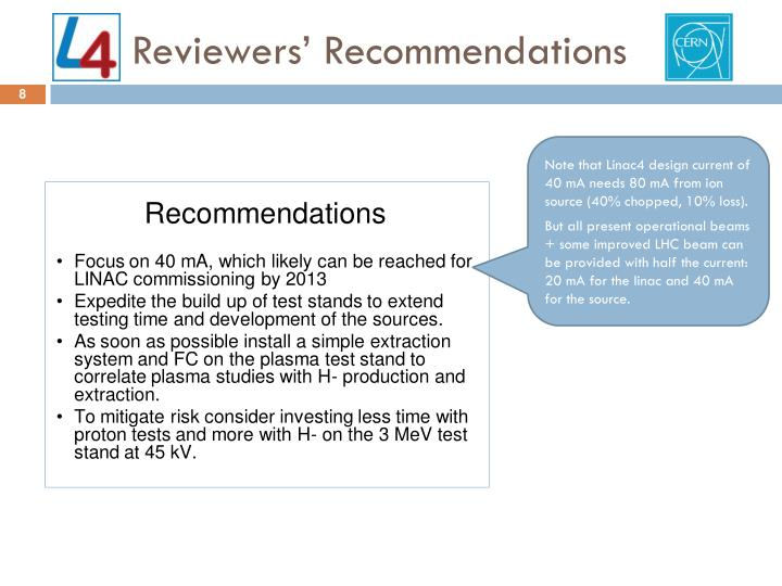 Reviewers' Recommendations