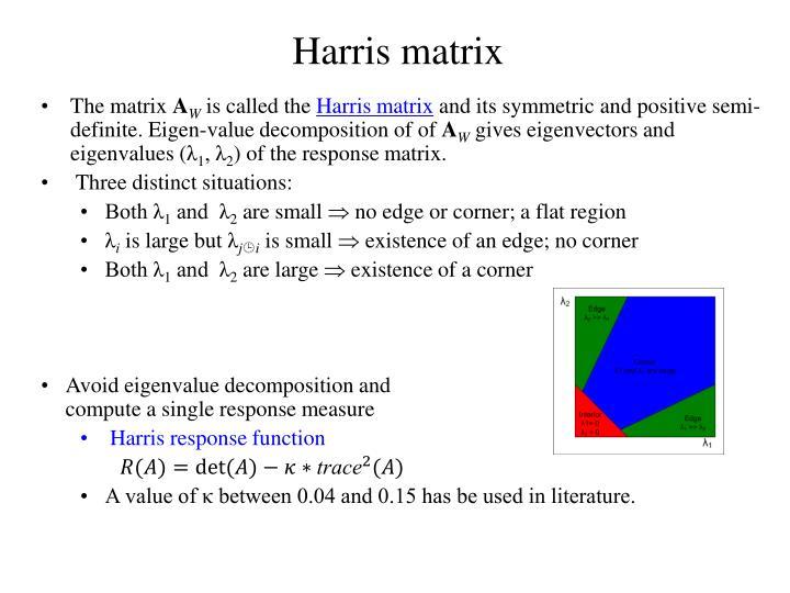 Harris matrix