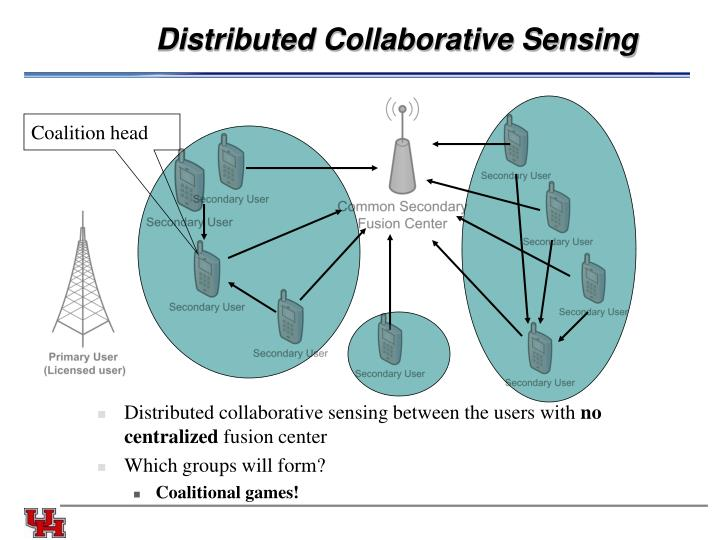 Distributed Collaborative Sensing