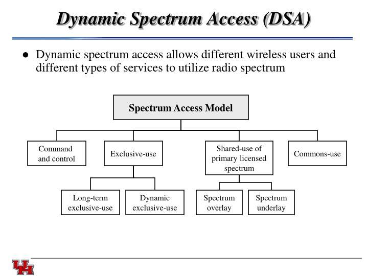 Spectrum Access Model