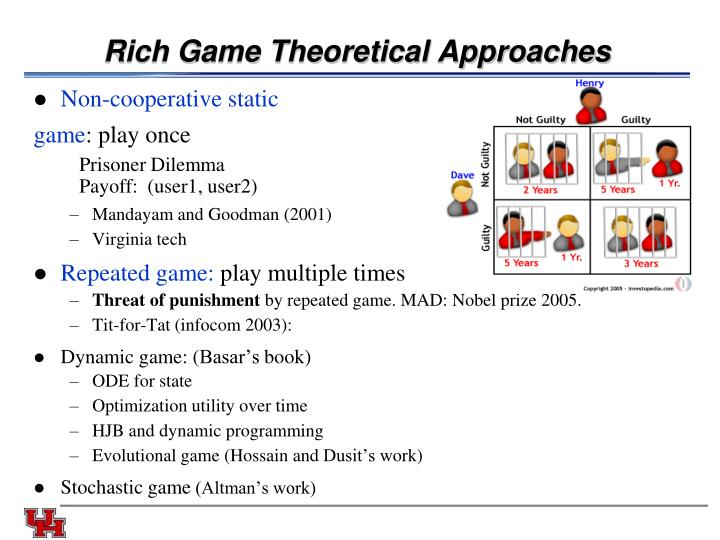 Rich Game Theoretical Approaches