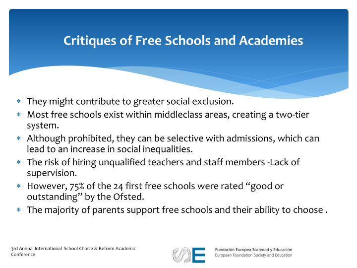 Critiques of Free