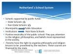 netherland s school system