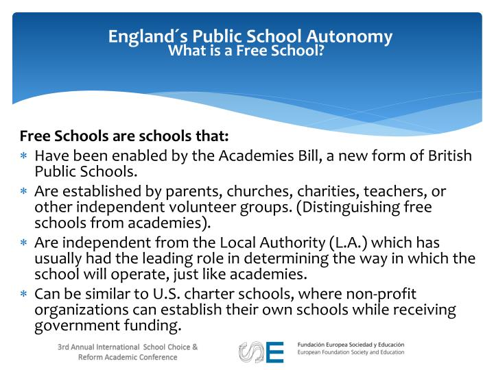 What is a Free School?