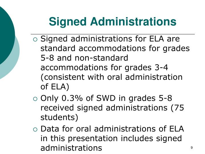Signed Administrations