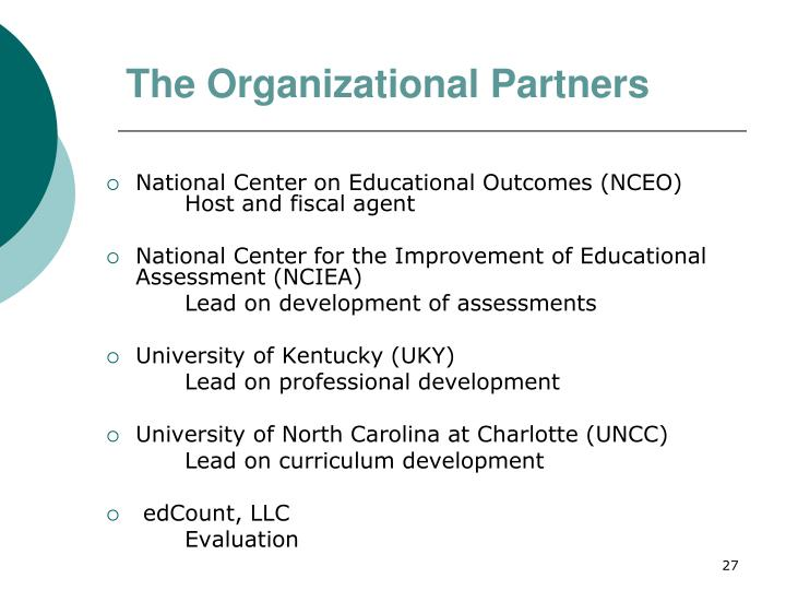 The Organizational Partners