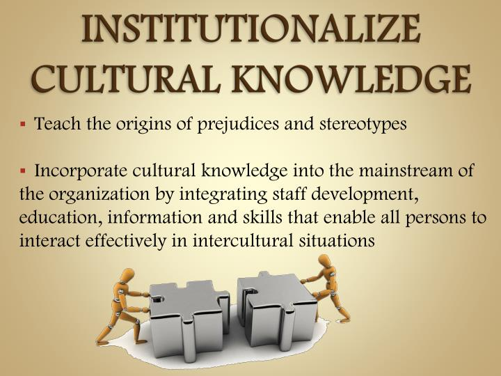 culturally proficient leadership The tools of cultural proficiency the essential elements -- standards for planning and evaluati ng • assess culture: identify the cultural groups present in the system • value diversity: develop an appreciation for the differences among and between groups.