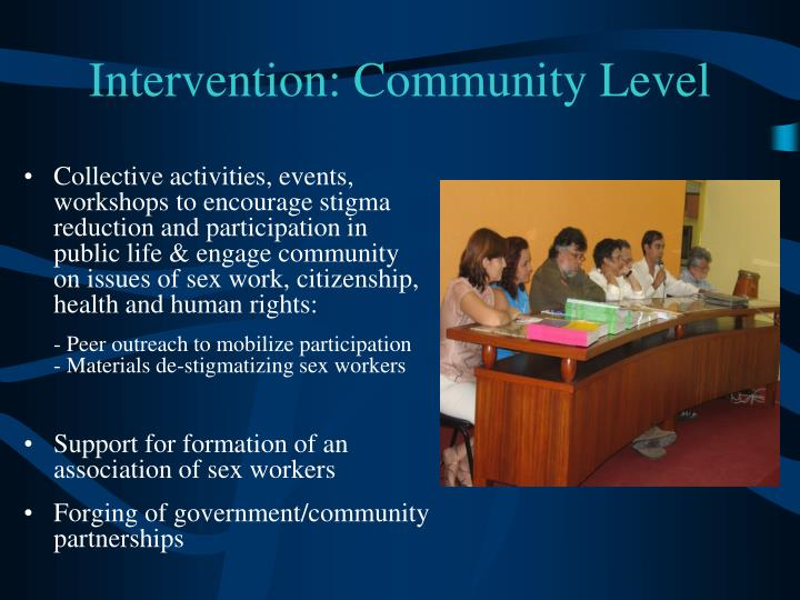 Intervention: Community Level