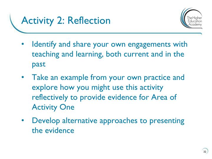 Activity 2: Reflection