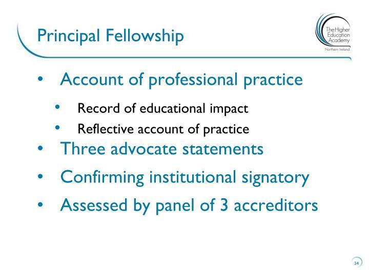 Principal Fellowship