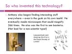 so who invented this technology11