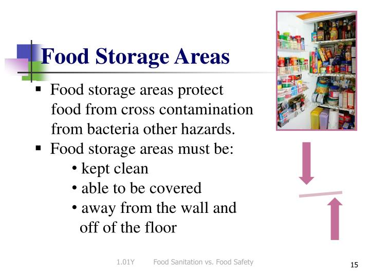 Food Storage Areas
