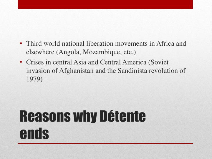 Third world national liberation movements in Africa and elsewhere (Angola, Mozambique, etc.)