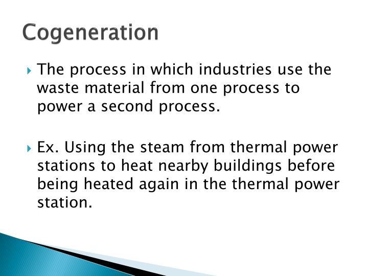 Cogeneration