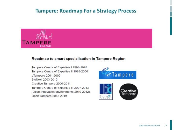 Tampere: Roadmap For a Strategy Process