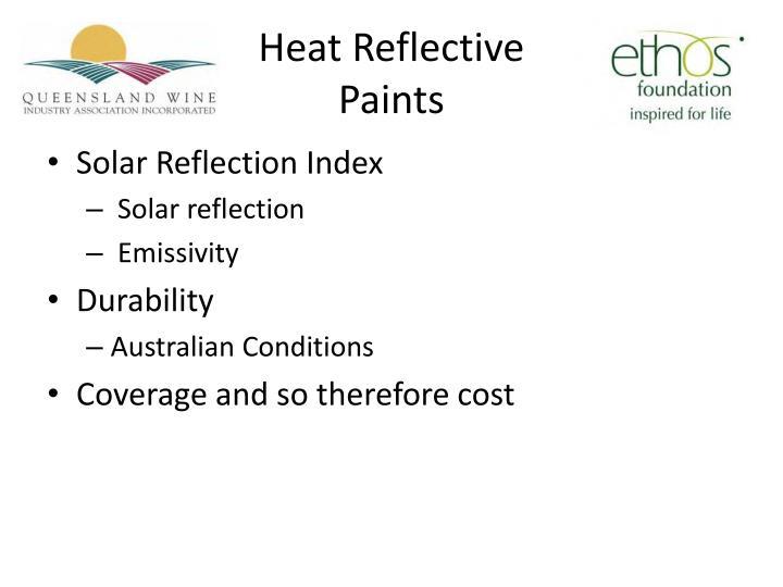 Heat Reflective