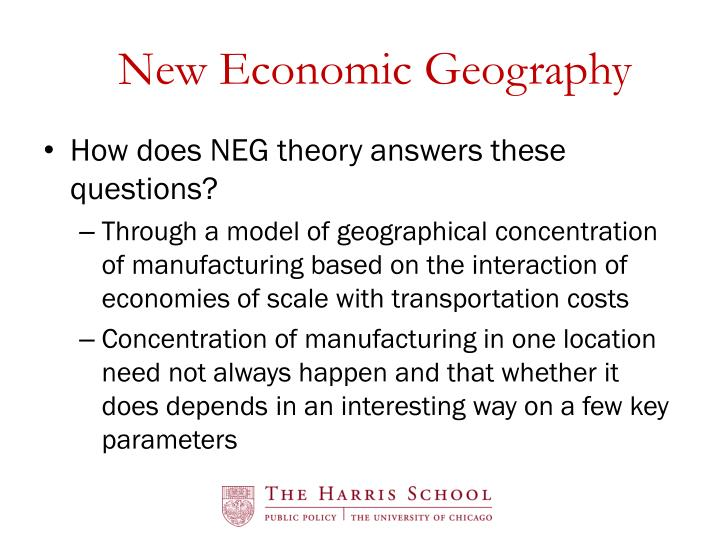 New Economic Geography