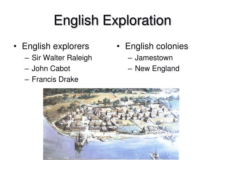 English explorers