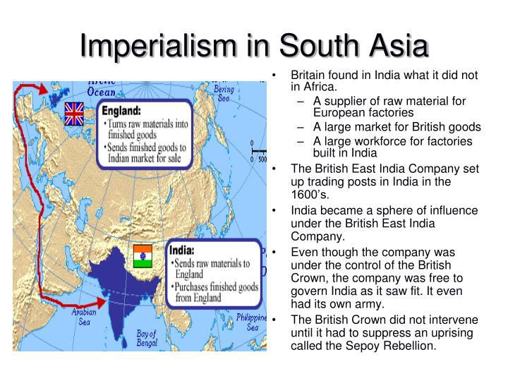 Britain found in India what it did not in Africa.