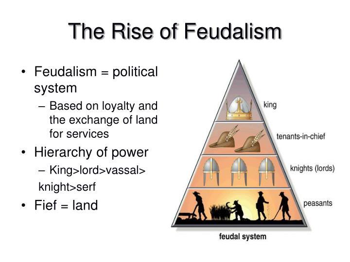 Feudalism = political system