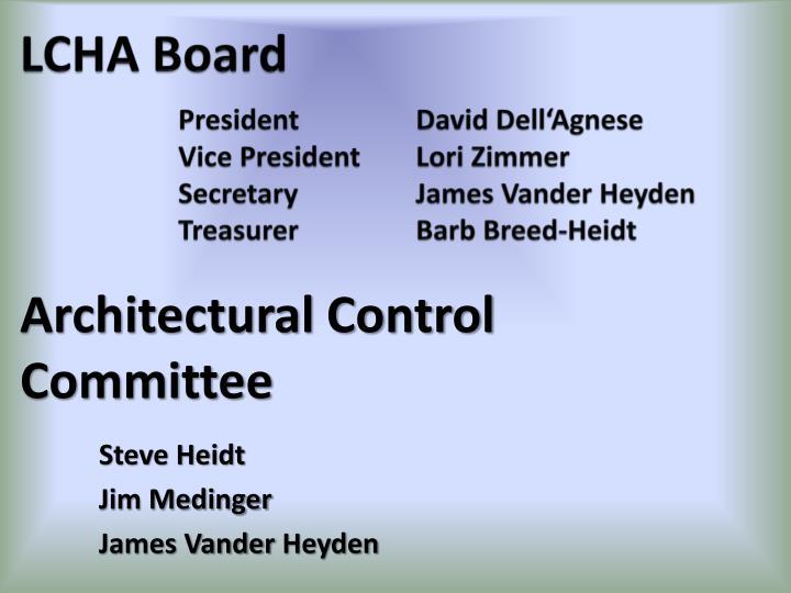 LCHA Board