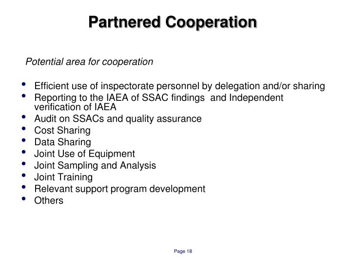 Partnered Cooperation