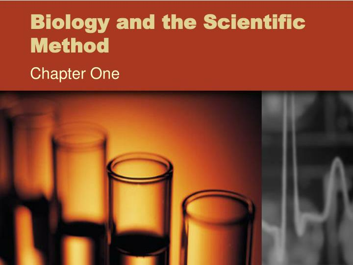 Biology and the Scientific Method