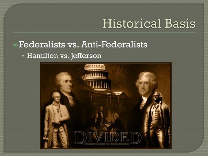Historical Basis