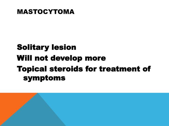 Mastocytoma