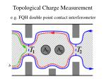topological charge measurement