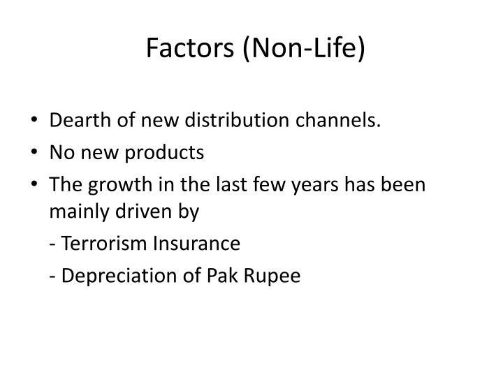 Factors (Non-Life)