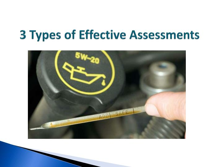 3 Types of Effective Assessments