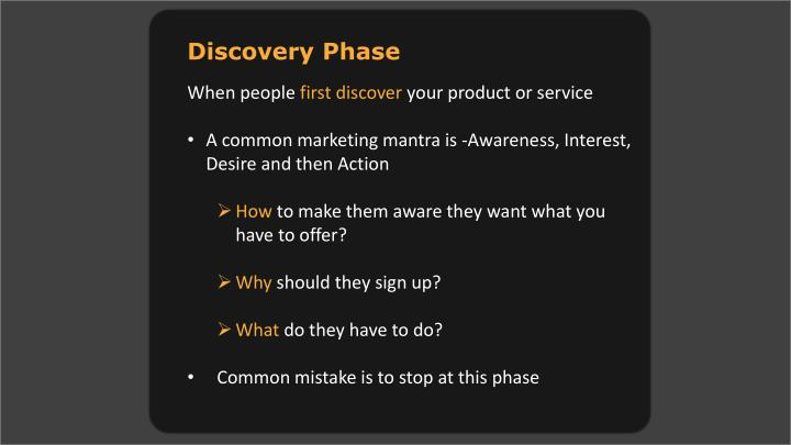Discovery Phase