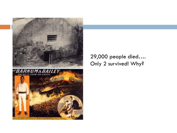 29,000 people died….