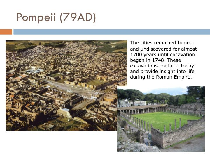 Pompeii (79AD)