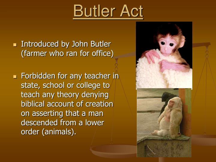 Butler Act